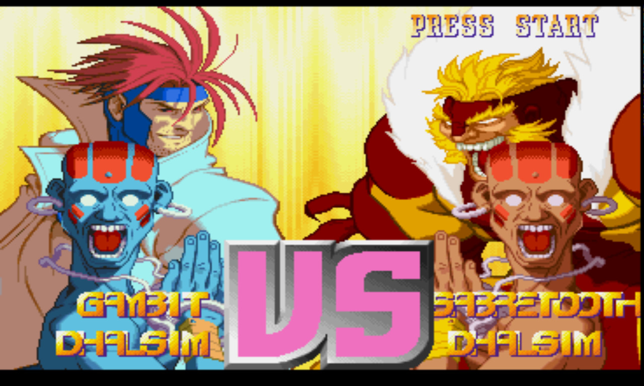 X-Men vs  Street Fighter [U] ISO < PSX ISOs | Emuparadise
